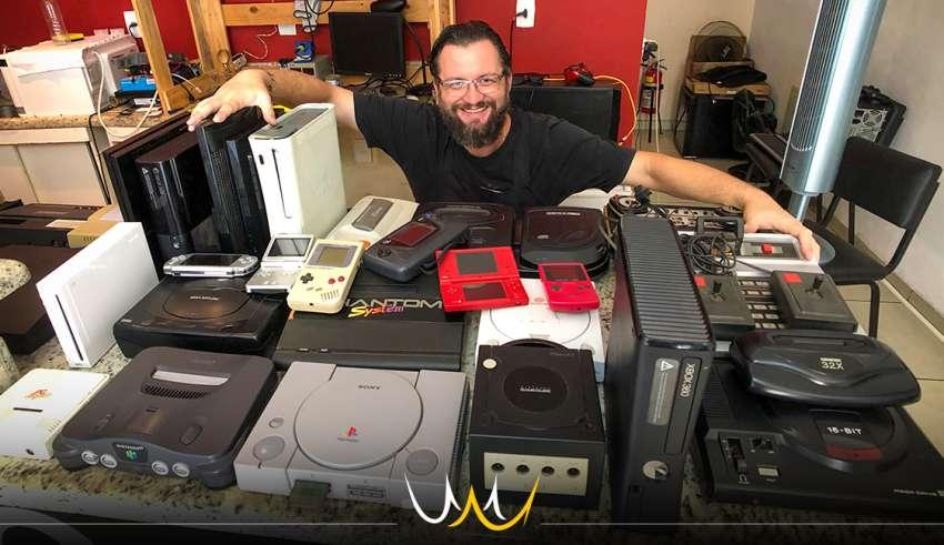 consoles jogos antigos