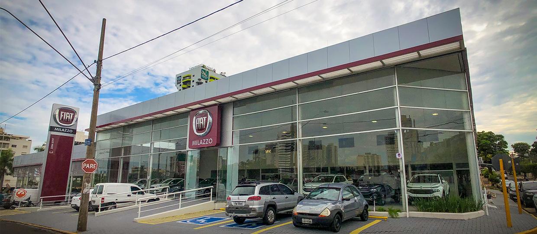 Milazzo Fiat inaugura em Bauru com carros novos, seminovos e oficina