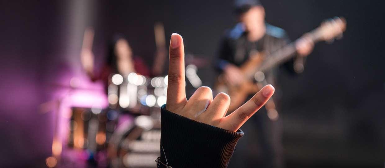 rock música fãs