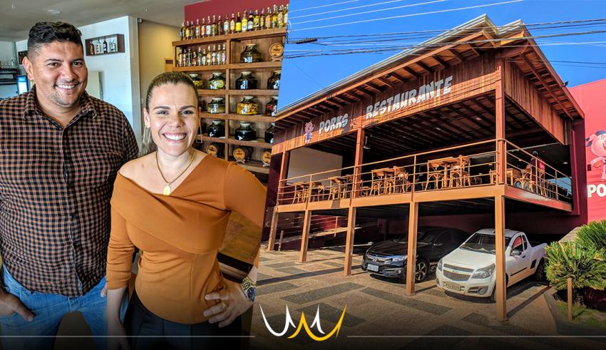 Porks em Bauru é resultado da carreira de baiano que começou como auxiliar de limpeza em restaurantes