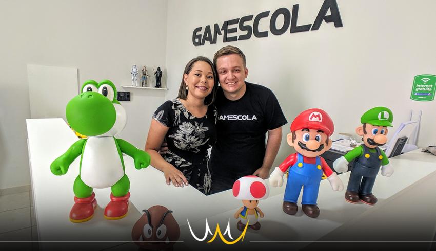 A GAMEscola é a primeira escola especializada em games de Bauru e futuramente também contará com um arcade de realidade virtual.