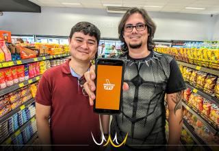 """O aplicativo """"Mercatálogo"""" é uma plataforma que permite a busca por um produto específico e demonstra as melhores ofertas dos mercados da região."""