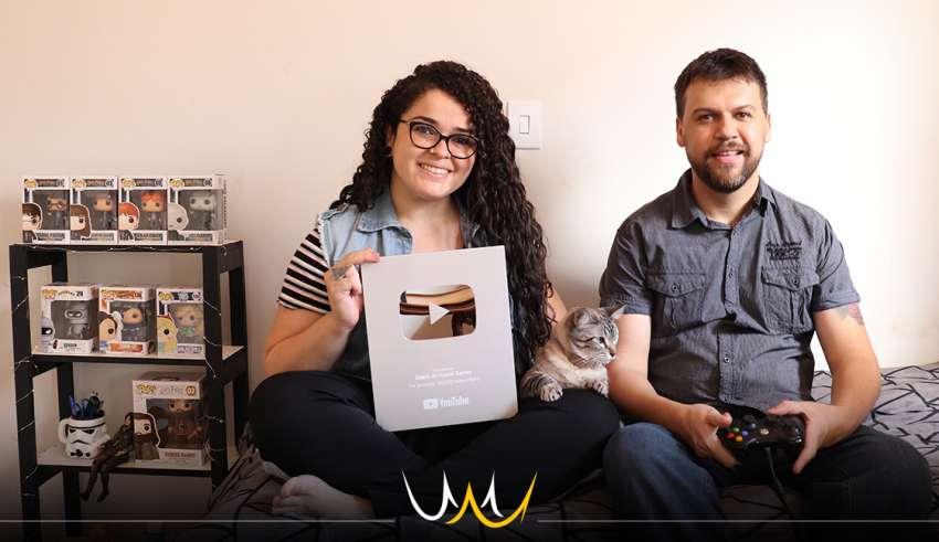 diário do casal gamer youtube