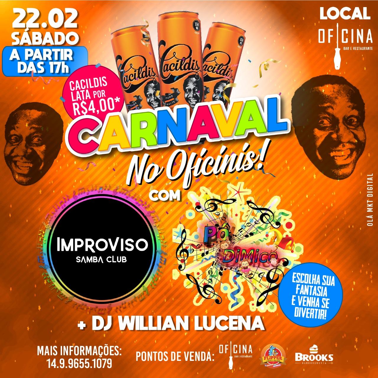 carnaval no oficinis