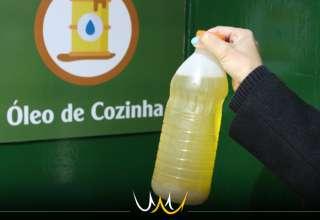 descarte de óleo