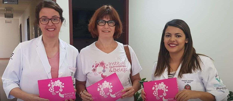 Instituto promove aula de ioga e arrecadação de lenços