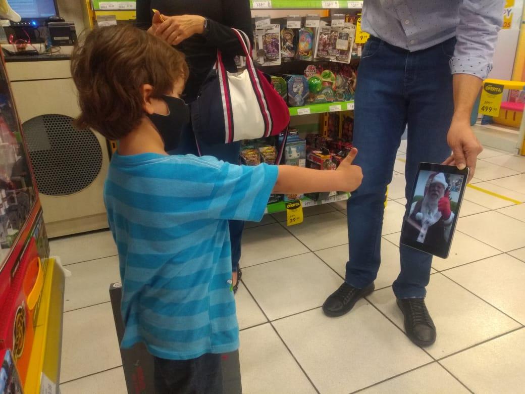 Papai Noel Virtual Bauru Shopping