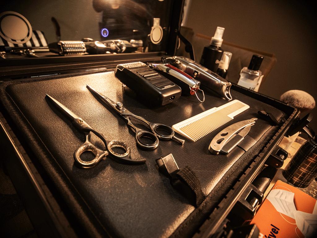 Barbearia em domicílio