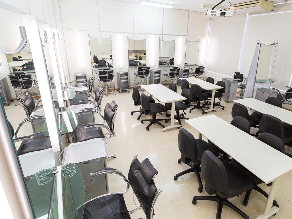 Laboratório do Senac Bauru