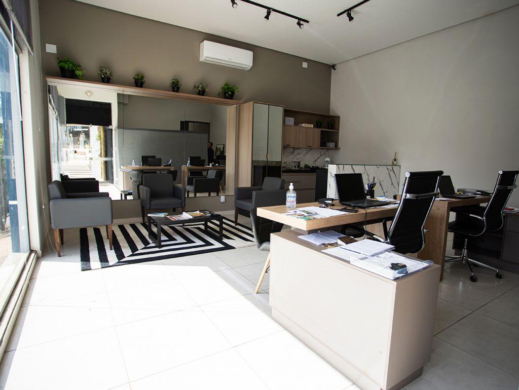 Ambiente da imobiliária