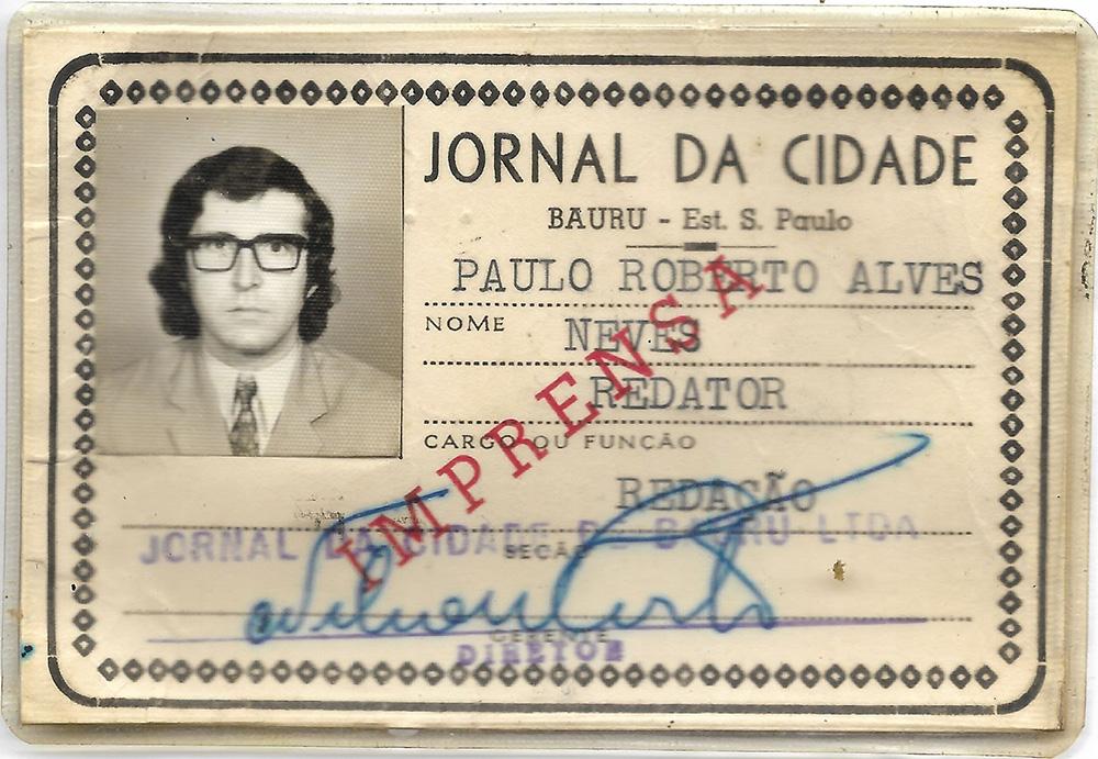 Carteira de Paulo Neves