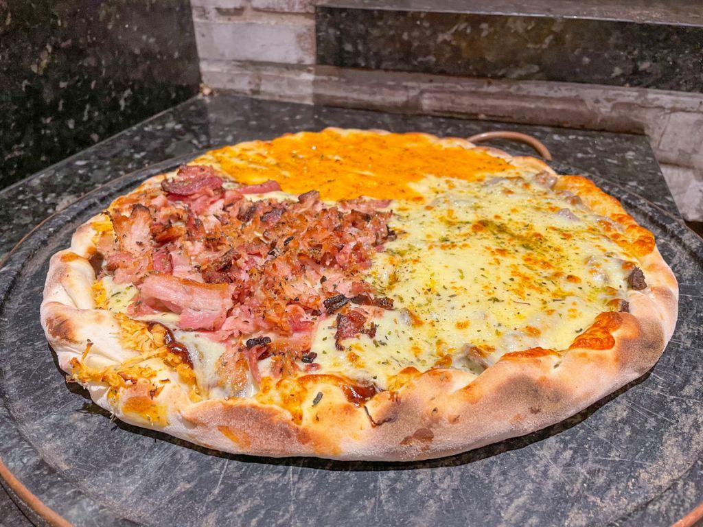 Pizzaria tem sabores especializados